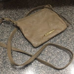 BCBG Taupe Shoulder Bag